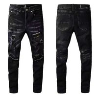 Men's jeans designer jeans high quality pants hole drawing classic luxury multicolor 2021 hot selling variety spring, summer, autumn and winter s5