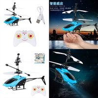 Mini Helikopter Elektronik RC Drone Infraed El Algılama Uçak Fighter Flyball Kontrol Uçak UFO Model Quadcopter Uzaktan Küçük