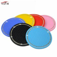 Drink Holder Car Water Cup Bottle Anti-slip Pad Mat Silica Gel For Interior Decoration Styling Accessories