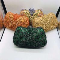Designer storage bagLatest Design Ladies Handbags Diamond Skull Clutch Women Evening Bags Ladie Casual Chain Crossbody Bag Shoulder Bags for Party