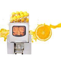 Limón Juicer Comercial Orange Juicer Máquina Jugo Automático Exprimidor Cítrico Eléctrico Acero Inoxidable Separación