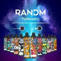 Original RandM Tornado 6000 Puffs Disposable E Cigarette Vape Pen 12 Colors with Rechargeable and Airflow Control puff bar plus xxl