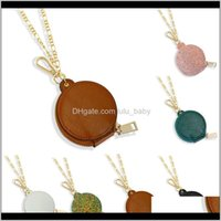 6 Colors Women Necklace 2 In 1 Coin Purse Keychain Neckalces For Girls Cosmetic Christmas Gifts Jr4Lf Necklaces Yhibr