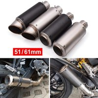 Motorcycle Pipe Exhaust Modify Motocross Muffler With DB Killer For Nmax CRF 230 Z750 CB400 ER6N GY6 System