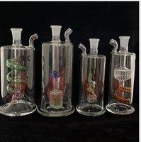 """الصمام الزجاج داب تلاعب مصغرة أنابيب المياه 5 """"بوصة النفط المحمولة النرجيلة مضمنة ستيريو الايثيل ريكيلر الزجاج بونغز 10 ملليمتر المشتركة التسلق"""