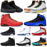 9 Men Hommes Basketball Chaussures Université Blue Gold Racer Gym Change Rouge The World Athletic Hommes Baskets Sports Sneakers Sports Taille 7-13