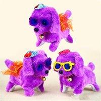 حزب صالح الإلكترونية أفخم لعب الكلب الحيوانات الأليفة الساخن بيع جديد أزياء المشي النباح لعبة عالية الجودة مضحك الكهربائية قصيرة الخيط الكلب