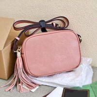 2021 Buchstaben Womens Quaste Kameras Tasche Marken Umhängetaschen Crossbody Shell Fashion Small Messenger Totes Handtaschen für Mädchen Quasten Sack
