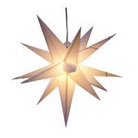 Décoration de fête 18-triangle Explosion Star Light avec conversion de l'UE Belle étape imperméable en plein air 3D