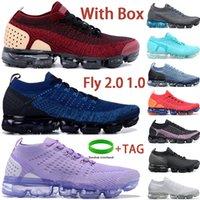 مع مربع يطير 2.0 1.0 الاحذية الثلاثي أسود أبيض رياضة الأزرق البيج الذهب الأكسجين الأرجواني يكون حقيقي الرجال النساء أحذية رياضية