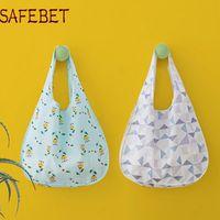 Сумки для покупок Safebet Модный Складной Супермаркет Сумка Высокопроницаемая Водонепроницаемая Портативная Эко Хранение