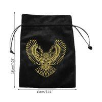 Ювелирные мешки, сумки для хранения карт Сумка Drawstring Pouch Vellvet с елками для подарков Макияж или Телефонные принадлежности U90F
