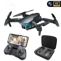 Global Drone GD89 PRO Drones HD 4K with camera RC Helicopter Drone 360 Degree Flip Foldable Quadcopter drone VS E58 S9W dropship