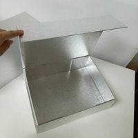 Caixas de embalagem de alta qualidade liso liso brinquedo espessa paperboard dobrável caixa rígida embalagem de fechamento magnético para roupa interior roupa cosmética rr9f