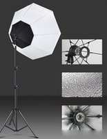 Flash Heads Po Studio Softbox Kit Pography Portable Octagonal Umbrella E27 Continuous Light Selfie Lamp With 2M Tripod For Video