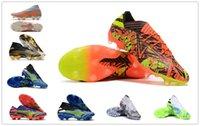 2021 Çizmeler Nemeziz Messi Rey Del Balon .1 FG - Güneş Kırmızı / Güneş Sarı / Çekirdek Siyah Erkekler Futbol Ayakkabıları Nemeziz / 19 + Uniforia Paketi Erkek Futbol Ayakkabı Spor Sneakers