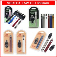 Lei vértice CO2 VV pré-aquecimento Bateria Kits LO Vaporizador de Óleo o Pen 510 Vape Pré-aquecimento Baterias 350Mah Bogo CE3 canetas de cartucho