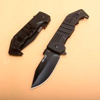 Nouveau! Acier froid AK47 AK47 AK-47 Modèle Alliage noir Poignée pliant couteau de poche Camping Camping Survie Coucles de Noël Cadeau 17T Couteaux