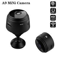 A9 1080P Full HD Mini Video Cámara WiFi IP Cámaras de seguridad inalámbricas para interiores Vigilancia de la noche Visión nocturna Pequeña videocámara