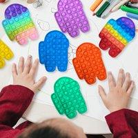 Push bubble sensory zappeln spielzeug 13 stiles fluoreszierende farbe und binderfarbstoff solide farben autismus braucht erwachsener kind lustige anti-stress zappel stress liver spielzeug