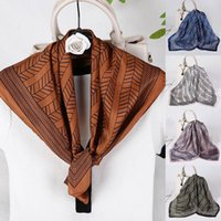 Scarves Imitated Silk Women Soft Shawls Cashew Scarf Comfortable Nice-looking Neck Four Season High Quality