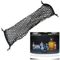 Borse di stoccaggio universale fune auto separazione net elastico stringa a maglia botola box vano bagagliaio bagaglio rete fissa