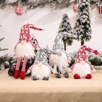Рождественские украшения Fengrise GnoMes Elf Doll Веселый декор для домашнего стола 2021 Navidad украшения Xmas Подарок 2022