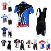Riesige Radfahren Kurze Ärmeln Jersey BIB Shorts Sets Neue Männer Sommer Sports Atmungsaktiv winddicht Mountainbike Sport Jersey S51414