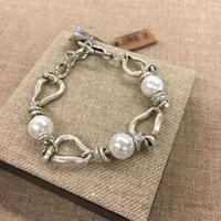 Spanien UNODE50 Perlen sind unregelmäßige authentische Freundschaft Armband Armbänder Überzogene Schmuckstücke für den europäischen Stil