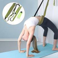 Ballet de yoga réglable Sport Sangle de pull Multi-Fonctionnalité Augmentation de la jambe Force de la jambe Formation Formation Fitness Bandes élastiques Bandes