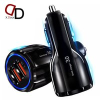 QC 3.0 two Port High Speed Quick Charging chargers 3.1A Adapter for iphone 5 6 7 8 x 11 12 plus pro samsung s8 s10 htc huawei xiaomi android phone dual usb car charger