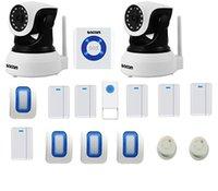 كاميرا الأمن نظام إنذار المنزل اللاسلكي WiFi DIY KIT التحكم الصوتي من Amazon Alexa، Alarme صفارات الإنذار، كاشف PIR، أنظمة كاشف الدخان