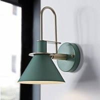 Wall Lamp Nordic Sconce Lamps Lighting Fixture Macaron Mount With Hardware Paint Body E27 Base Bedside Reading