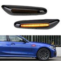 Luci di emergenza lampeggiante LED Auto Laterale Auto Marker Segnale luminosa Segnale di direzione Lampada laterali Accessori per E46 E60 E90 E91 E92 E93 X3 E83 X1 E84 X5 E5 E5
