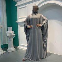 Etnik Giyim Müslüman Namaz Robe Kaftan Abaya Dubai Türkiye Djelaba Femme Başörtüsü Kadınlar için Femme Hicap İslam Niqab Abayas Kaftan de Priere