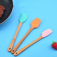Baking & Pastry Tools Mini Silicone Spatula Scraper Basting Brush Spoon for Cooking Mixing Nonstick Cookware Kitchen Utensils OWA7610