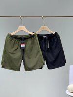21SS American Jogger Marque Hommes Shorts Pantalons Coton Color Letter Imprimer Couverture Sports Sports brodés Stretch brodé Stretch-séchage rapide Jogging