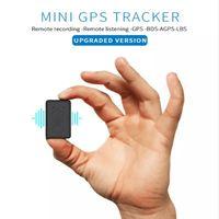 추적 장치 미니 GPS 긴 대기 자석 SOS 추적기 로케이터 음성 레코더 핸드 헬드 휴대용 자동차 트래커 와이파이 액세서리