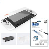 9H Tempered Glass Screen Protector For Nintendo Switch OLED 500pcs lot In Retail Package