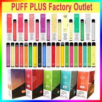 Factory Outlet Puff Puff Plus Plus Dape Peape Pen E CiGarette Advent 800 Средства 78 Цвета В наличии 3.2ML Префилированный картридж верховой батареи 550 мАч