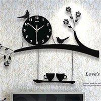 Цифровая Настенные Часы Современный Дизайн Кухня Большие Часы Настенные Часы Гостиная Украшения Сельский Дом Большие Часы с наклейками 372 R2