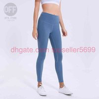2021 Damen Leggings Designer Yoga \ Runants \ Rhigh Taille Richtige Sport Turnhalle Wear Legging Elastic Fitness Dame insgesamt volle Strumpfhosen Workout