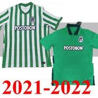 Novo de boa qualidade Atlético Nacional 2021 Jerseys de futebol Home Away Atletico 21 22 Jersey Camisas de futebol Top Quality Thai S --- XXL