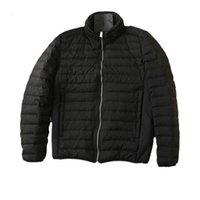 topstoney 20FW Man Winter heated removable down jacket Man casual goose down trendy jacket black puffer jacket_good