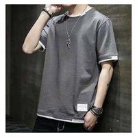 t shirt Wxw short T-shirt summer bottom shirt half sleeve top clothes brand loose men's clothing 20