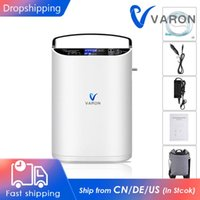 Air Purifiers VARON 220V 110V Pulse Flow Oxygent Concentrator For Home Use Portable Oxygen Machine 90% Concentration Car