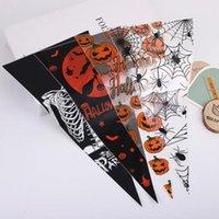 Подарочная упаковка Хэллоуин Треугольник Пластиковая Конфета Упаковка Убийца Сумка может быть объединена с оформлением