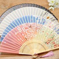 Bambus-Faltlüfter weibliche alte Stile Fan Chinesische Stil Faltende Fans Student Geschenke T9I001350