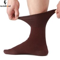 Veridical 5 Pairs Lot Men Socks Cotton Long Good Quality Business Harajuku Diabetic Fluffy Socks Meias Masculino Calcetines G0918