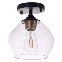 북유럽 천장 조명 현대 LED 천장 램프 20cm 깊은 22.5cm 침실 거실 장식 로프트 주방 홀 조명 실내 조명 램프